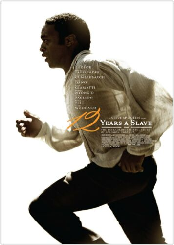 12 Years A Slave Classic Large Movie Poster Print A0 A1 A2 A3 A4 Maxi