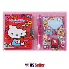 Hello Kitty Diary Stationary Gift Set School Supplies