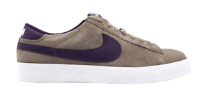 Nike BLAZER LOW SB Grey Purple Iron Quasar Purple Discounted (147 ... 43925b6ac996