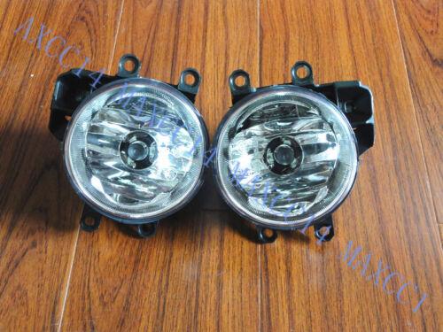 Pair Front Bumper Fog Lamp Spot Light 2X For TOYOTA COROLLA EU-VERSION 2014-2016