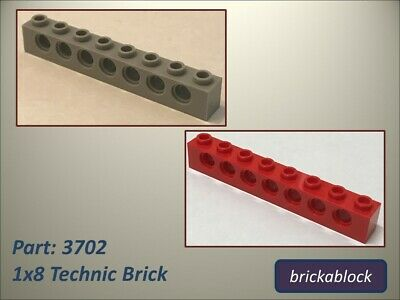 FREE P/&P! Select Colour LEGO 6541 1X1 Technic Brick with Hole Pack Size