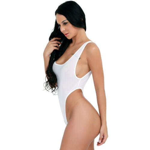Monokini Women/'s Vintage Monokini One Piece Swimwear Bathing Suit Beach Bodysuit