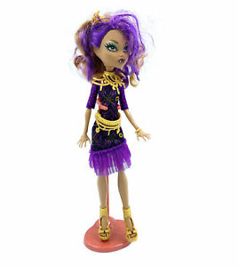 Monster High Frights Camera Action Black Carpet Clawdeen
