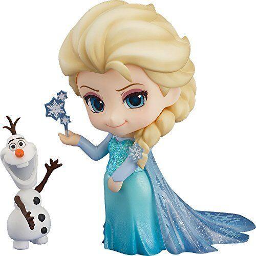Nuovo Good Smile Compagnia Nendgoldid 475 Frozen Elsa Statuetta da Giappone F S