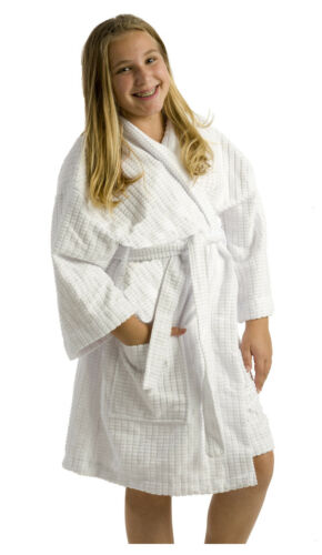 byLora Microfiber Kids Hooded Robe Embroidery Available