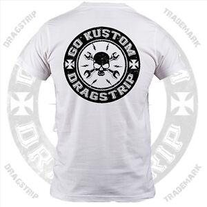18ad12ed0fc Dragstrip Clothing Go Kustom Hot Rod Lucky 7 tattoo biker rocker ...