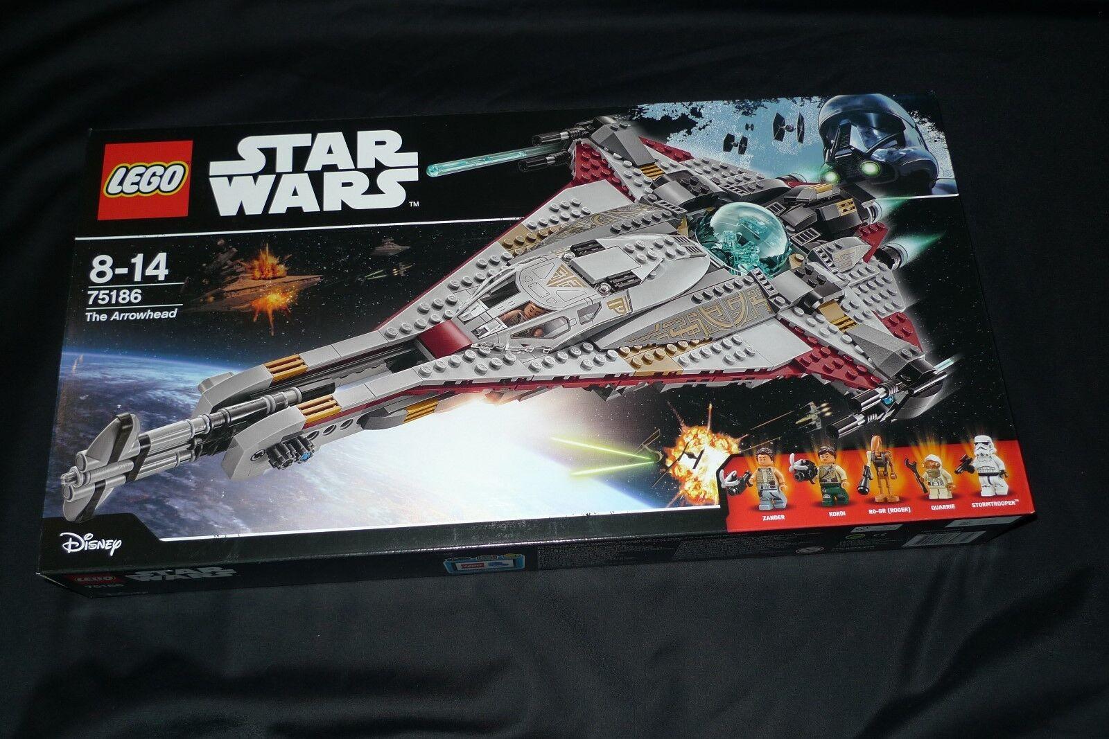 Lego 75186 - Star Wars - Arrowhead - NUOVO SIGILLATO