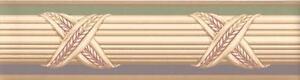Wallpaper-Border-Lavender-Green-Beige-Tan-Faux-Banded-Wheat-Molding