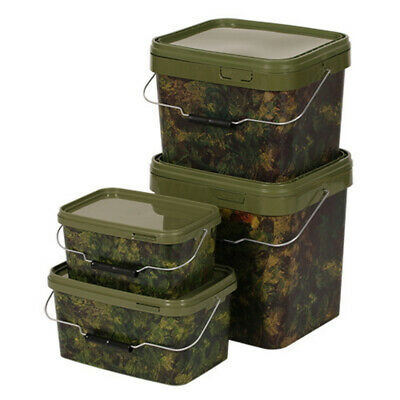Lavender Tackle Gardner Tackle NEW Camo Bait Bucket *All Sizes Available*