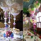 1/5/10/15 X 24'' Transparent Clear Helium Foil Balloons Wedding Party Decor Hot