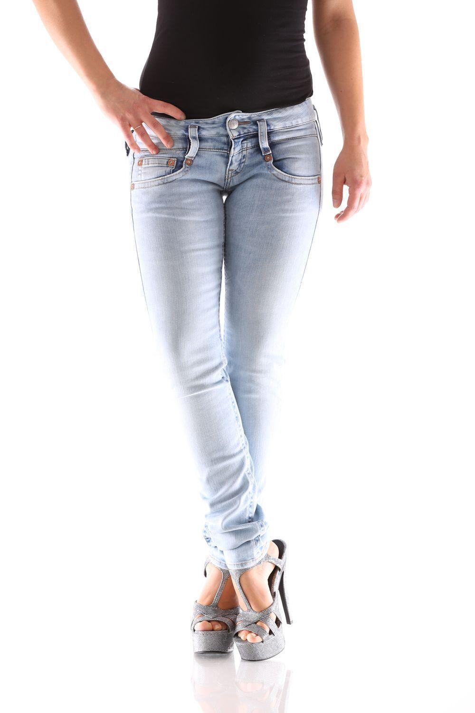 Herrlicher Pitch Slim Denim D9666 776 Women's Jeans Trousers New