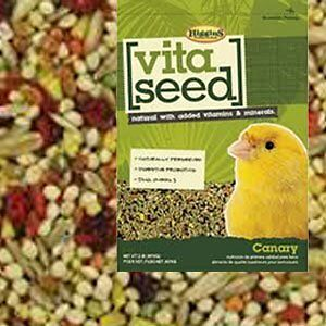 HIGGINS 466164 Vita Seed Canary Food for Birds, 25Pound