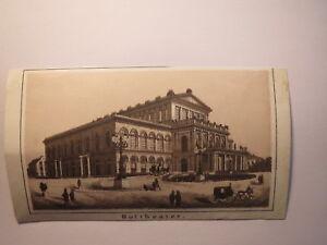 GéNéReuse Hanovre-hoftheater-aujourd'hui Bienvenue Opéra/image Environ 1870/80er Ans-afficher Le Titre D'origine