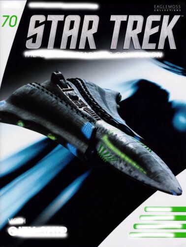 Voth nave Ciudad-Metal revista modelo alemán-Eaglemoss #70 Star Trek nuevo