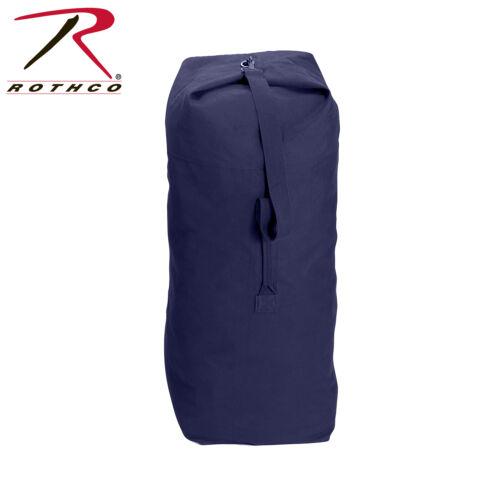 Rothco 3596 Heavyweight Top Load Canvas Duffle Bag-Bleu Marine