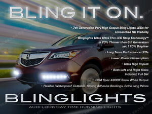 2014 2015 acura mdx led drl head or fog light strips day time image is loading 2014 2015 acura mdx led drl head or aloadofball Gallery