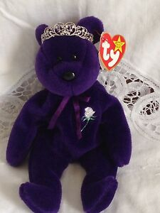 e8338eaeee6 Rare Mint 1st Edition 1st Generation 1997 Princess Diana Beanie Baby ...