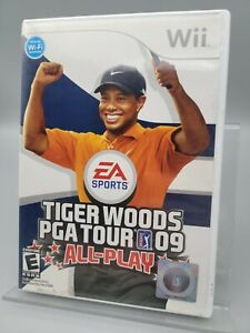 Tiger Woods PGA Tour 09 (Nintendo WII 2008) - EA Sports - Complete with manual