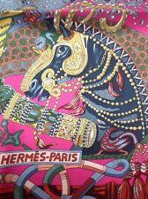 Hermes Au Fil Du Carre Annie Faivre Hermes Scarf Carre 90 Bnib