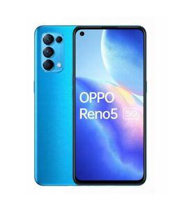 "Smartphone OPPO Reno 5 5G 6,4"" 8+128GB Dual Sim NUOVO Android Astral Blu"