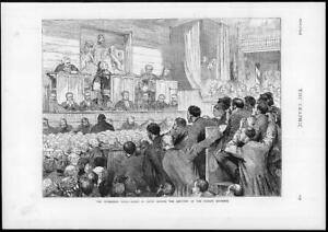 1874-Antique-Print-TICHBORNE-Trial-Judges-Sentence-Court-Wigs-Men-146