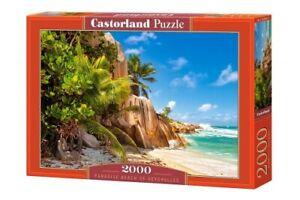 """Castorland Puzzle 2000 Pieces PARADISE BEACH 92x68cm/36""""x27"""