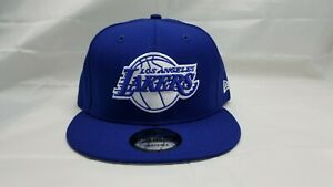 NEW-ERA-9FIFTY-SNAPBACK-HAT-NBA-LOS-ANGELES-LAKERS-BLUE
