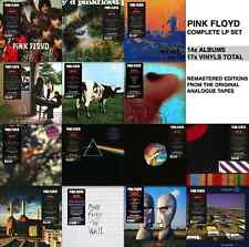 PINK FLOYD 14x LP Lot REMASTERED 180g VINYL LIMITED DELUXE EU PRESSINGS 2016 New