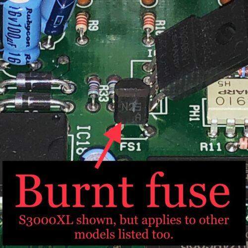 Akai SCSI Fuse Repair Kit for S1000 S1100 S3000i CD3000 MPC2000XL S1000PB KB
