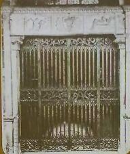 Gate of the Santa Maria Novella Chapel, Florence,Italy,Magic Lantern Glass Slide