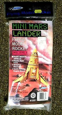 Estes K-43 Mars Lander Model Rocket Kit Open Box All Parts