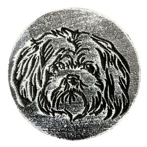 Maltese-Dog-puppy-plaque-mold-plaster-concrete-resin-craft-mould-7-75-034-x-3-4-034