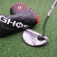 Taylormade Golf Left Hand Ghost Tour Black Monte Carlo Putter 35 Superstroke on Sale