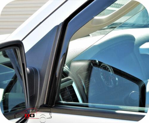 Para 2009-2018 Ram Quad Cab na janela de canal defletores de ventilação Viseiras Chuva Tons
