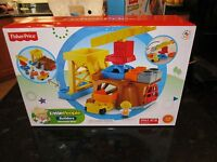Fisher Price Little People Builders Mountain Mine Dump Truck Eddie Construction