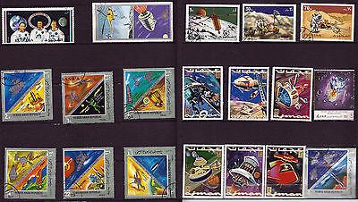 Briefmarken Dynamisch Raum Raketen,satelliten,kosmonauten,explorer 10,mariner Ii 32t6