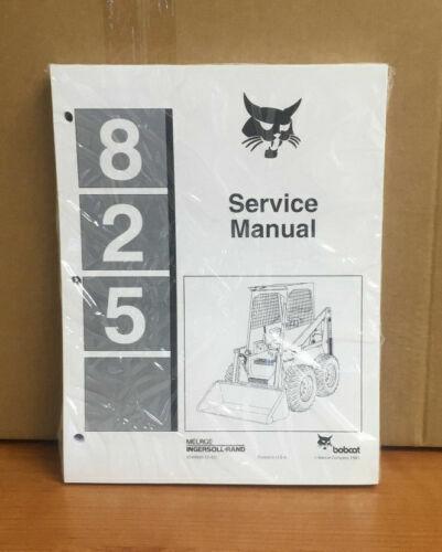 BEST Bobcat 825 Skid Steer Repair Service Manual 1983 6549899 CD