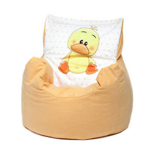 Remarkable Details About Yellow Duck Childrens Character Filled Beanbag Kids Bean Bag Chair Bedroom Squirreltailoven Fun Painted Chair Ideas Images Squirreltailovenorg
