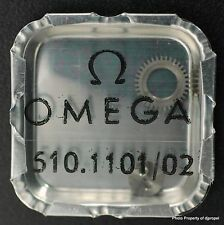 Vintage ORIGINAL OMEGA Crown Wheel & CW Core Part #1101/2 for Omega Cal.510!