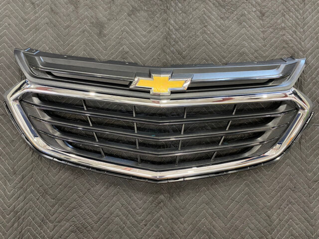 Chrome Mesh Grille Overlay fit for 2018-2019 Chevy Equinox