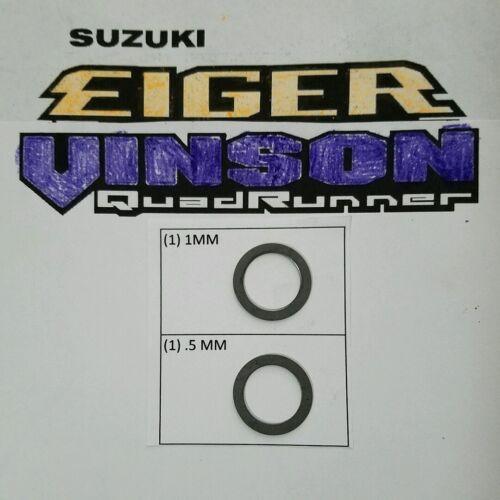 500 1.5mm shim mod clutch mod coop45 LL Suzuki Eiger Vinson 400