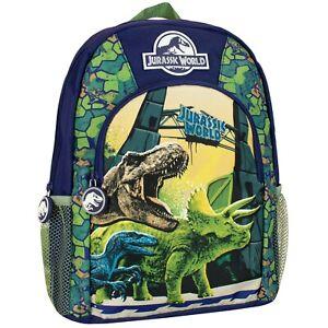 Jurassic-World-Rucksack-I-Kids-Jurassic-World-Backpack-I-Kids-Dinosaur-Backpack