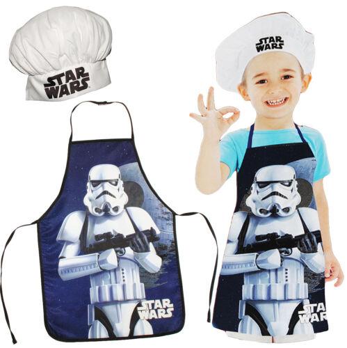 """/""""Star Wars-Stormtrooper/"""" 2 Pezzi Set: i bambini GREMBIULE größenver BERRETTO CUOCO"""