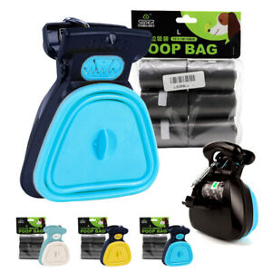 Dog-Pooper-Scooper-amp-Refill-Bags-Poop-Scoop-Cat-Pet-Foldable-Waste-Picker-Cleaner