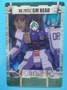 Morinaga Gundam Anime Collectible Trading Card MegaHouse RX-79[G] 13-16-394