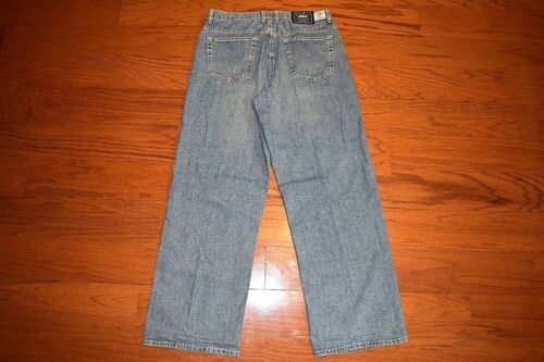 Taille coupe 19n X Usa Made Lucky bleu Jean Brand voyageur Jeans 33 ample wOvpaaf6qx