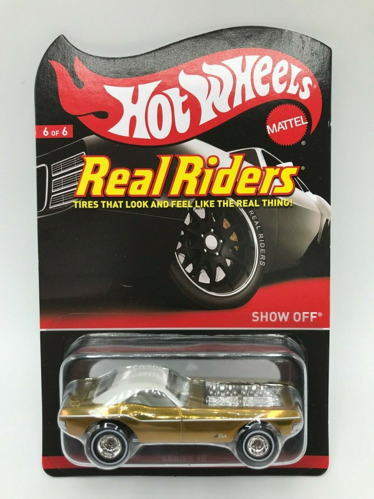 Hot Wheels Real Riders Show Off MIBP Ships With Protector