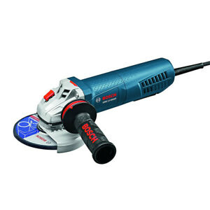 Bosch 13 A 5 in. VS Paddle Angle Grinder GWS13-50VSP-RT Certified Refurbished