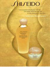 PUBLICITE ADVERTISING 124  1996  SHISEIDO   cosmétiques BENEFIANCE
