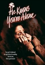 HE KNOWS YOURE ALONE  -  DVD - UK Compatible - New & sealed